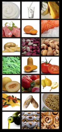 Alimentos sanos y equilibrados para comedores escolares